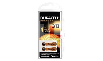 DA312 Hearing Aid Battery - 6 pack