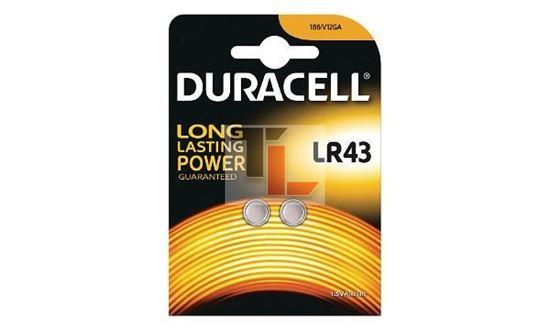 Duracell Pile LR 43 di tipo Coin Cell