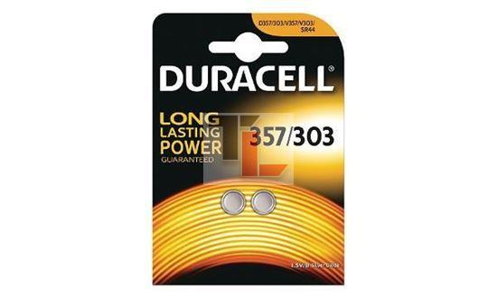 Pila per orologio Duracell 357/303 1,5V D357