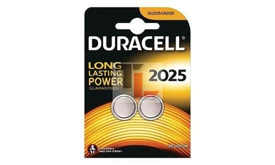 Duracell DL2025 Coin Cell Battery - 2 Pack
