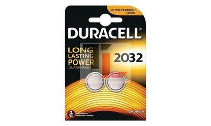 Duracell DL2032 Coin Cell Battery - 2 Pack