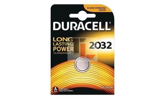 Pila per Duracell 3v dispositivi elettronici (Confezione da 1) DL2032