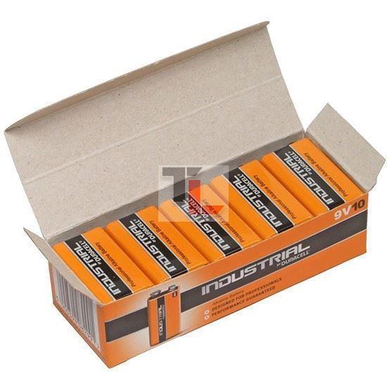 Pile Duracell Industrial (10 pack BULK) 9V ID1604B10