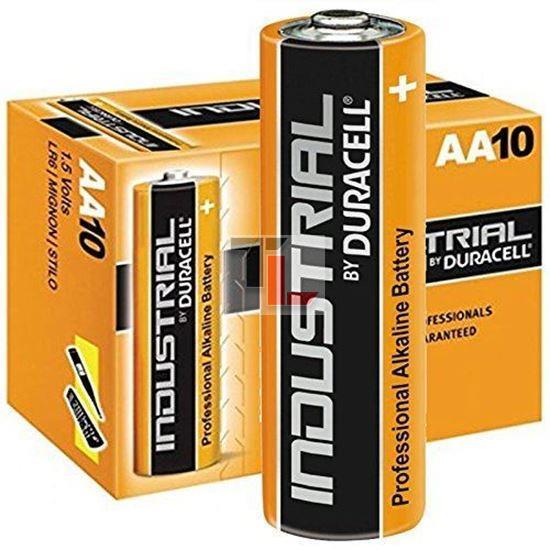 Pile Duracell Industrial (10 pack BULK) AA ID1500B10