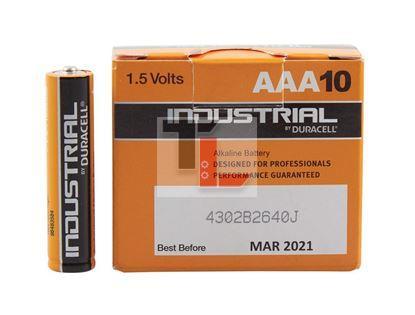Pile Duracell Industrial (10 pack BULK) AAA ID2400B10