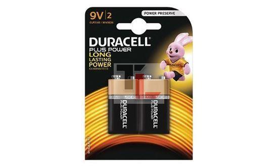 Pile Duracell Plus Power (2 pack) 9V MN1604B2
