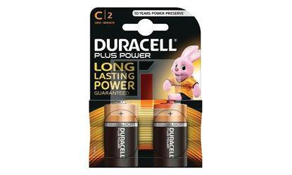 Pile Duracell Plus Power (2 pack) C MN1400B2