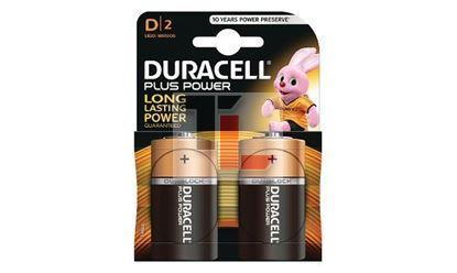Pile Duracell Plus Power (2 pack) D MN1300B2