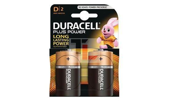 Pile Duracell Plus Power (2 pack) D MN1300B2