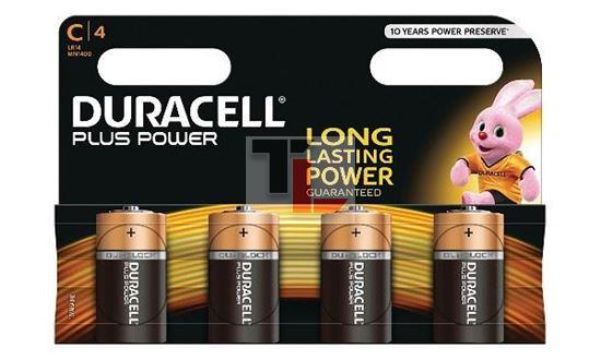 Pile Duracell Plus Power (4 pack) C MN1400B4