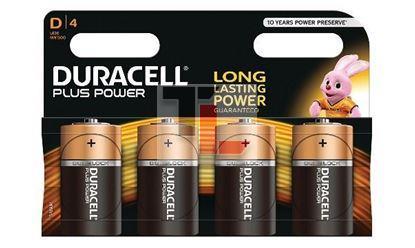 Pile Duracell Plus Power (4 pack) D MN1300B4