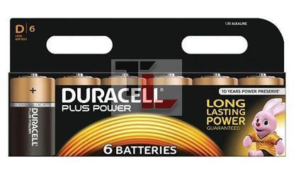 Pile Duracell Plus Power (6 pack) D MN1300B