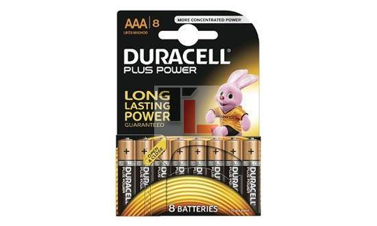 Pile Duracell Plus Power (8 pack) AAA MN2400B8