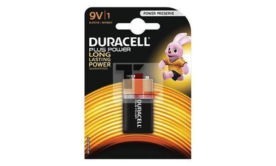 Pile Duracell Plus Power (single pack) 9V MN1604B1