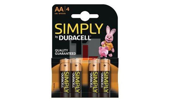 ile Duracell Simply (4 pack) AA MN1500B4S