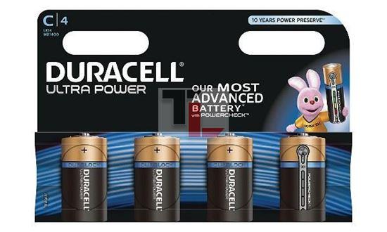 Pile Duracell Ultra Power (4 pack) C MX1400B4