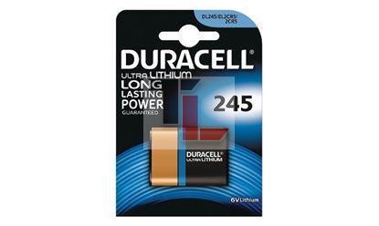 Pile per Macchine Fotografiche Duracell 245 / 2CR5 Lithium Photo Battery 6V 245 / 2CR5 DL245