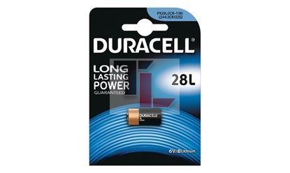 Pile per Macchine Fotografiche Duracell 28L Lithium Photo Battery 6V 28L PX28L