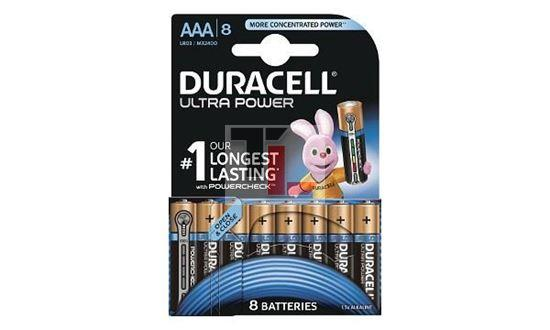 Pile Duracell Ultra Power (8 pack) AAA MX2400B8