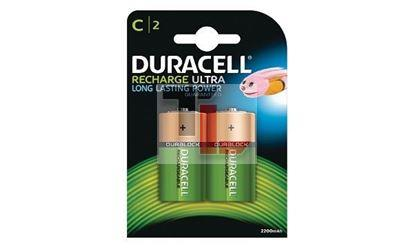 Pile Ricaricabili Duracell Rechargeable (2 pack)x10Pz C HR14