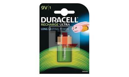 Pile Ricaricabili Duracell Rechargeable (single pack) 9V HR9V