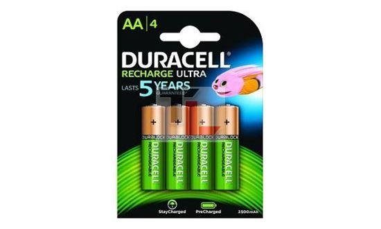 Pile Ricaricabili Duracell Rechargeable Staycharged / Precharged (4 pack) - 2400mAh AA HR06-