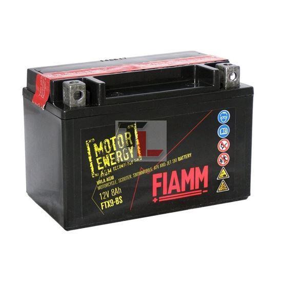 BATTERIA MOTO FIAMM FTX9-BS