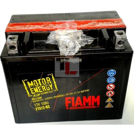 BATTERIA MOTO FIAMM FTX12-BS