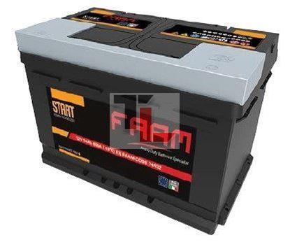 Batteria FAAM L3 74 START 74Ah 650EN