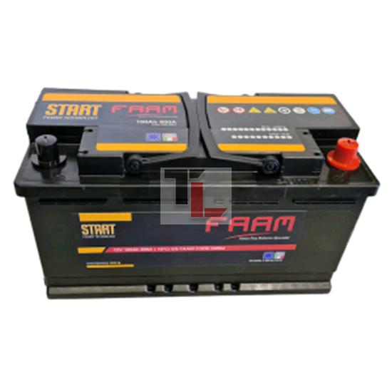 Batteria FAAM L5 100 START 100Ah 800EN